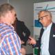 Anton Legeland in gesprek met een bezoeker. Foto: Reinier Kroesen Foto: Reinier Kroesen