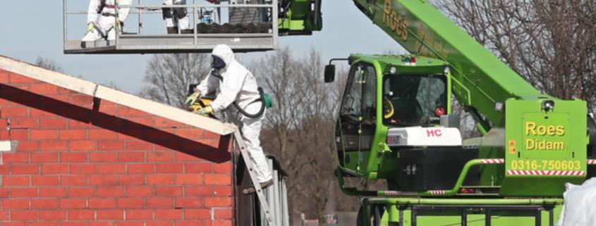 Astronauten verwijderen asbest buitengebied Ruurlo